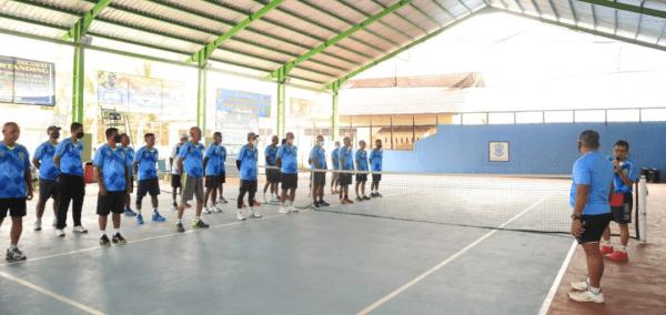 Semangat Sumpah Pemuda, Turnamen Tenis Lapangan Danrem Cup 121/Abw Sebagai Ajang Tingkatkan Imunitas